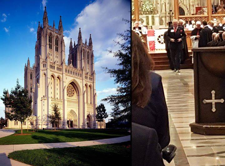 MY INVESTITURE FROM QUEEN ELIZABETH II TOOK PLACE-WASHINGTON NATIONAL CATHEDRAL-EXTREMELY MOVING EVENT-MANY NOTABLES HONORED <br>http://pic.twitter.com/F6RE62ru5Z