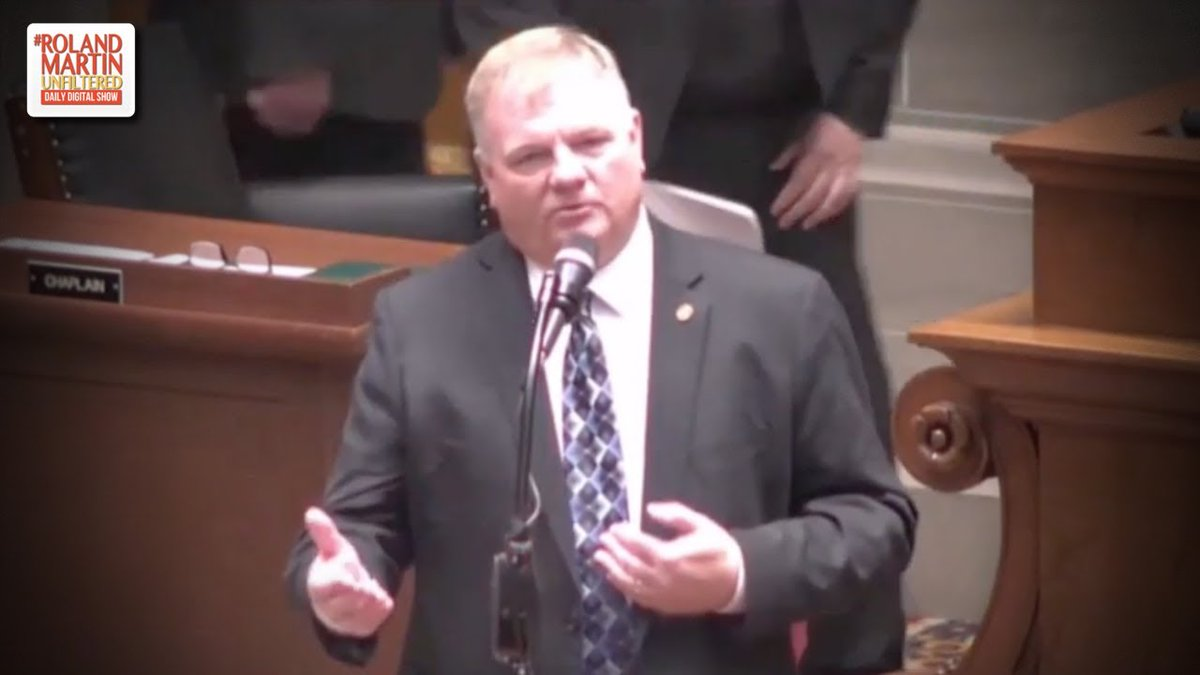 WTH?!? In Missouri, GOP State Rep. #BarryHovis used the term &#39;consensual rape&#39; while arguing in favor of a abortion ban  http:// ow.ly/qbQR50ulZna  &nbsp;   #RolandMartinUnfiltered <br>http://pic.twitter.com/R6GhCwzHWM