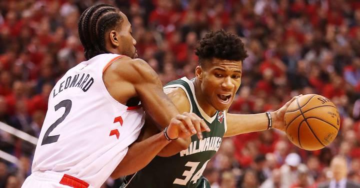 Los Raptors vencen a los Bucks