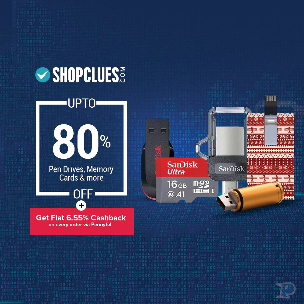 76a2b8007ff ... http   pennyful.com Shop now   http   bit.ly 2JUhg8A  Shopclues   Pendrive  Memorycard  Pennyful  Offers  Sale  Discount   Dealpic.twitter.com 9oTpVvDb3O