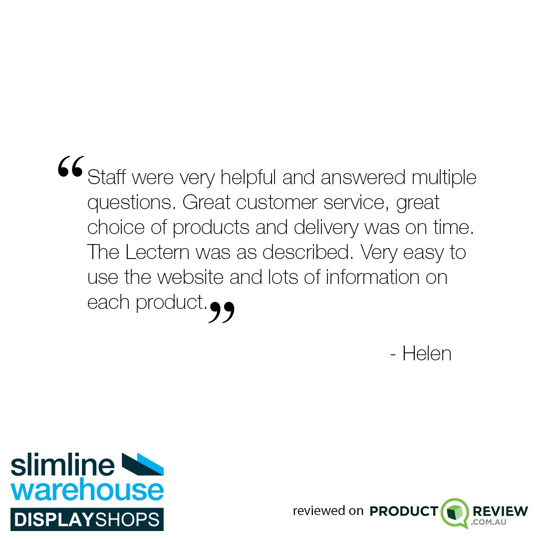 Thanks for your lovely feedback Helen!  #customerservice #review https://t.co/b83TKXUnA8