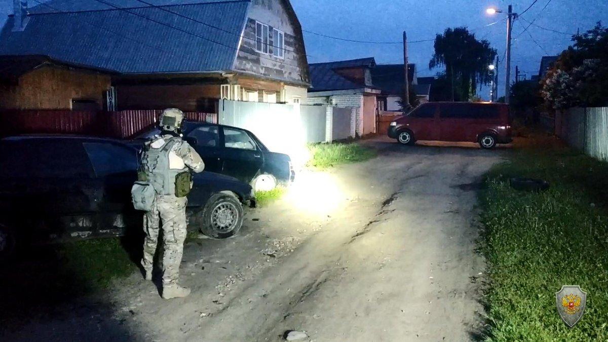 Ликвидация террористов в Кольчугино