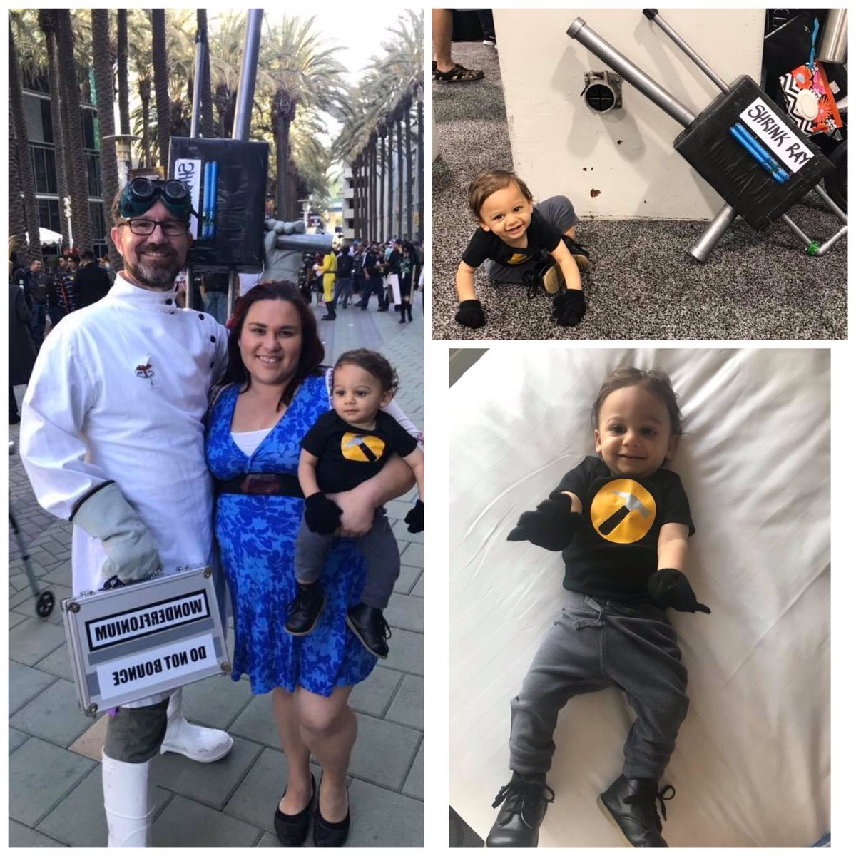 We've been looking forward to @Whedoncon since last year. It's so much fun to hang out with all your friends in person when you only get to see them on IG and FB for most of the year. Our tiny Captain Hammer is ready to go and we are on a panel Saturday! See you all there!<br>http://pic.twitter.com/uCyNEpwuvP