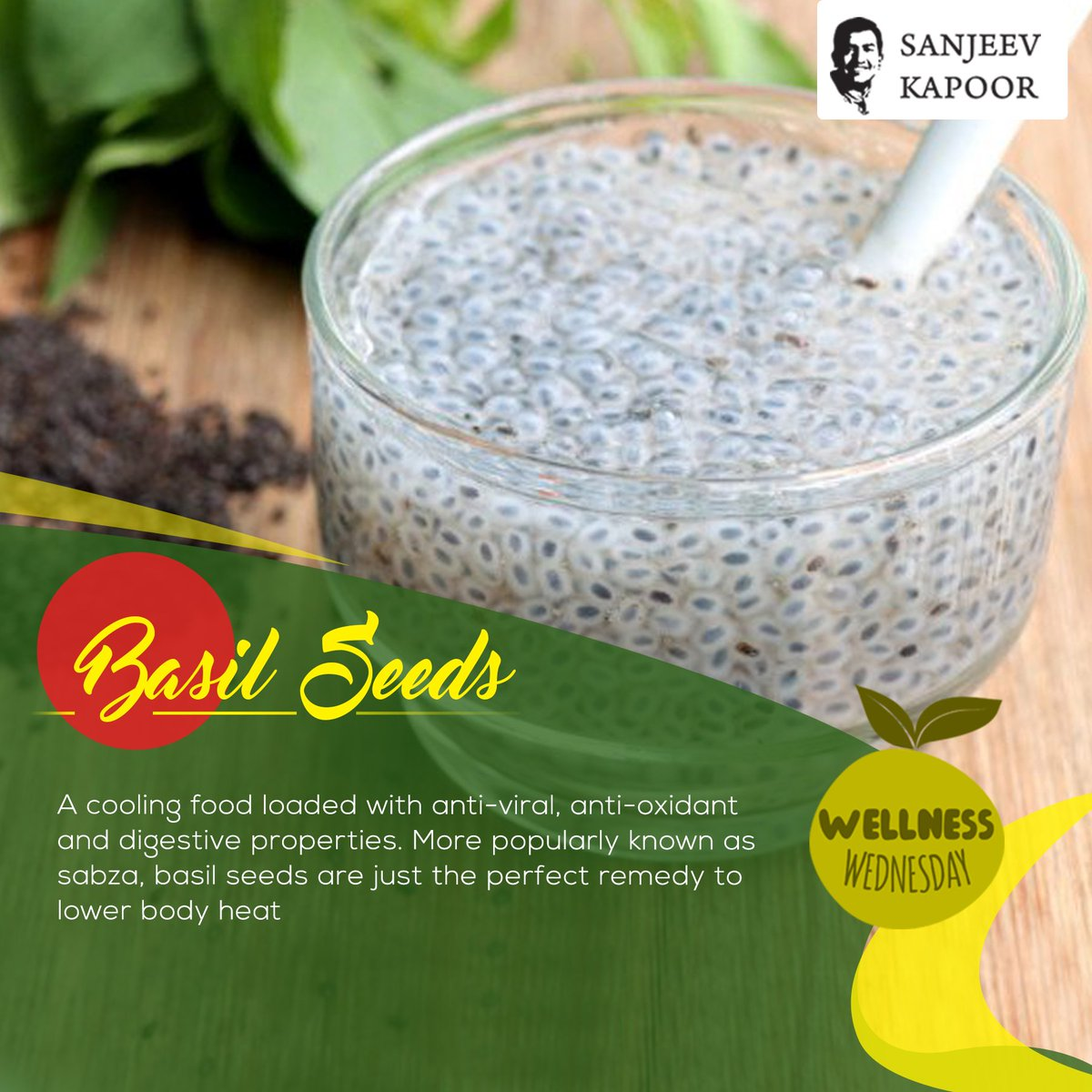 Sanjeev Kapoor's photo on #WellnessWednesday