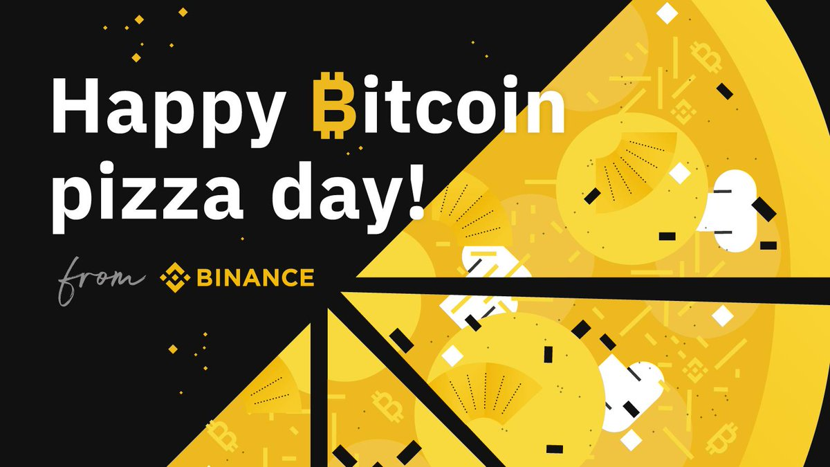 Binance's photo on #BitcoinPizzaDay