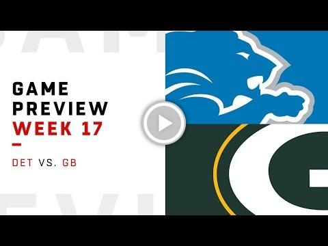 Detroit Lions vs. Green Bay Packers | Week 17 Game Preview | NFL Playbook https://t.co/eM5P8vB3Oh #FireFan https://t.co/iejbF6Qi8A
