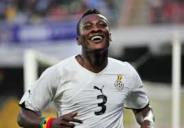 Asamoah Gyan (@ASAMOAH_GYAN3) made his Black Stars debut at age 17, He is the all-time leading goal scorer of the Black Stars & the top African goal scorer in the history of the World Cup with 6 goals.He is the first player in the world to score in 9 consecutive major tournaments