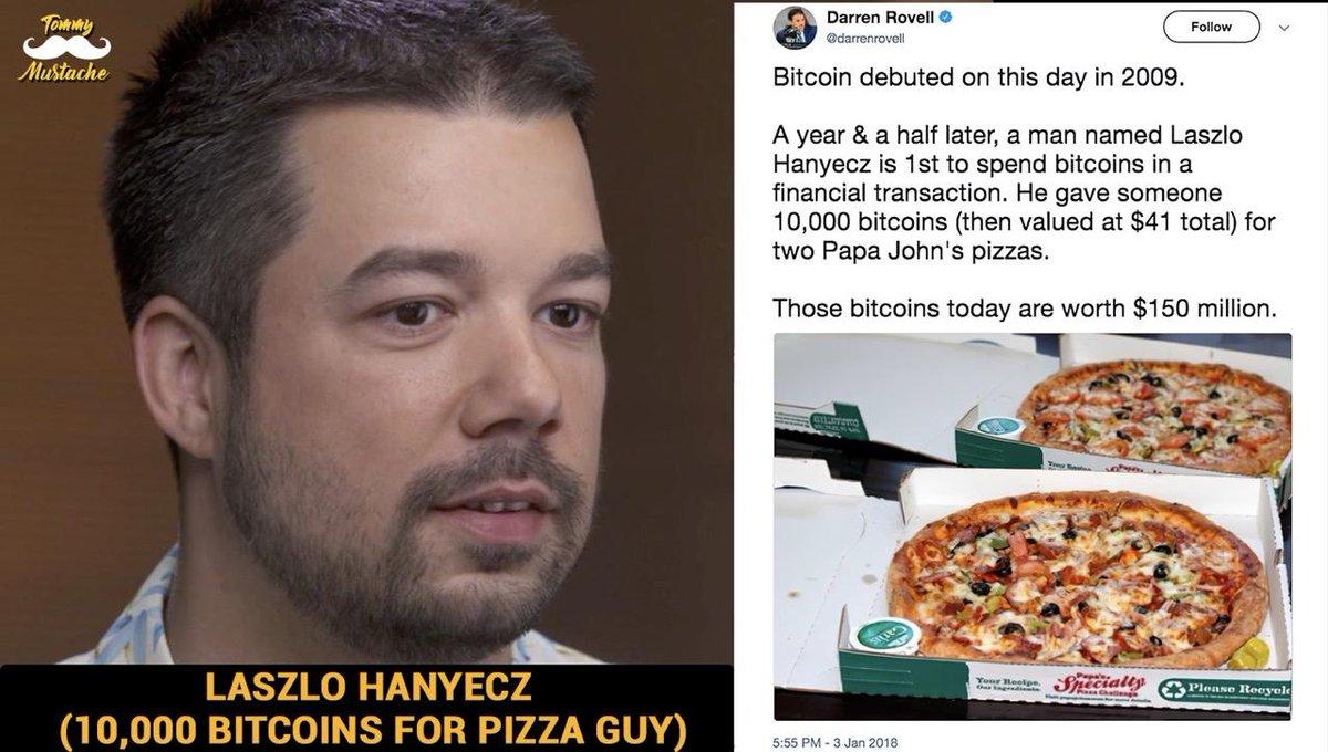 """Bitcoin Pizza Day, cosa è accaduto dopo 10 anni da quelle """"pizze""""? - prosuasa.it"""