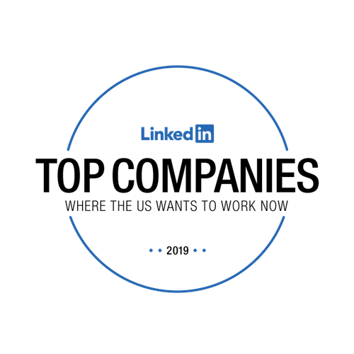 Proud to be in the top 5 #LinkedInTopCompanies of 2019. Companies are ranked across four main pillars: interest in the company, engagement with employees, job demand and employee retention. #DeloitteCareers https://deloi.tt/2PSIdua