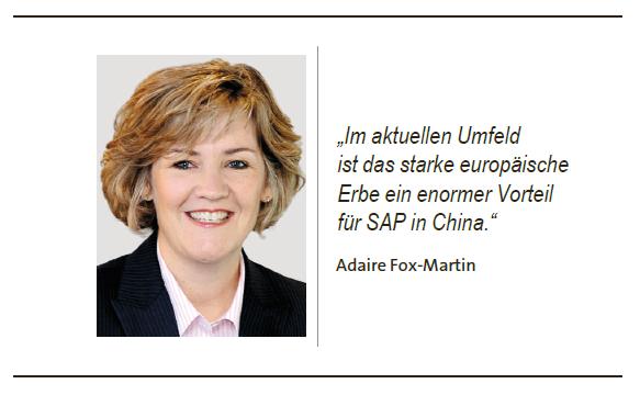 Vertriebschefin von #SAP, Adaire Fox-Martin, soll dafür sorgen, dass die zuletzt gesunkene SAP-#Anwenderzufriedenheit wieder wächst. Wie sie das schaffen will und welches Unternehmen ihr als Vorbild dient, sagt sie uns im Gepräch.  @AdaireFoxMartin @SAP  http://www.boersen-zeitung.de/index.php?li=1&artid=2019097059&titel=Wir-befinden-uns-hier-an-einer-wichtigen-Schwelle&t=tw…