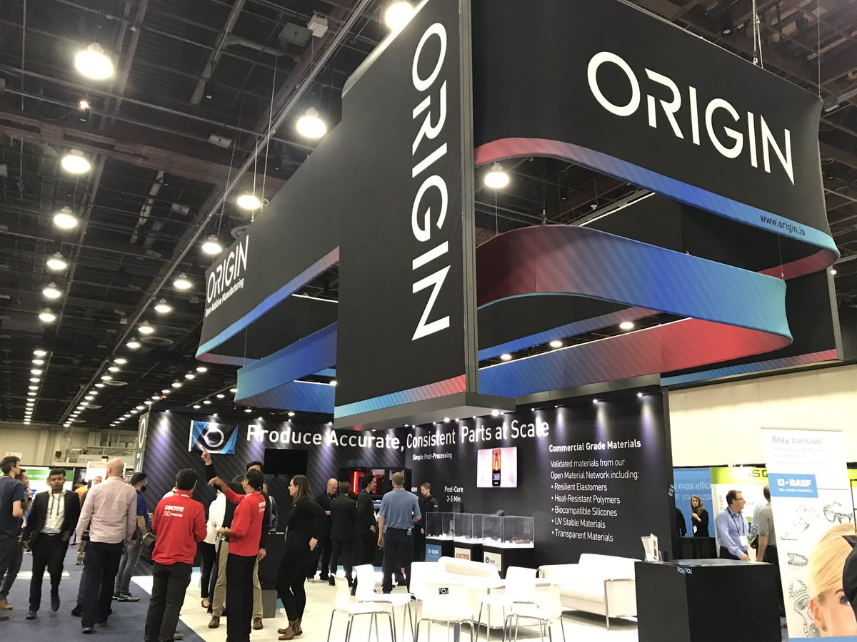 Origin exiting stealthmode and exhibiting for the 1st time at any #3Dprinting tradeshow - booth # 2153 feat. the new Origin ONE system #RAPIDevent<br>http://pic.twitter.com/bmI12m9fu6