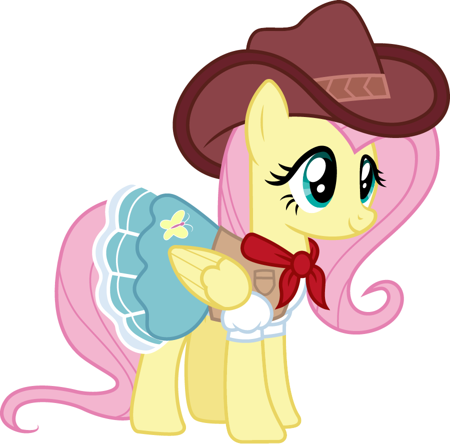 Cowgirl Fluttershy <br>http://pic.twitter.com/7KbOCrO4O0