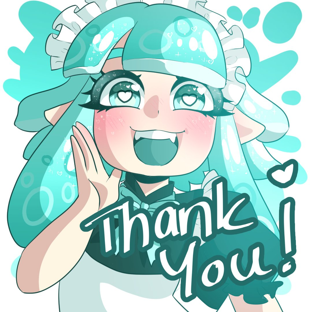 I'm so happy my first real drawing here got so much love!  Almost 100 Likes! Wowie ;w;   Thank you so much for the warm welcome here! And hello to all new followers! #Splatoon2 #SplatoonArt #squidoc #splatoonocpic.twitter.com/jBrzumlntk
