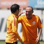 Image for the Tweet beginning: 📸 Şampiyon Galatasaray'ımızın bugünkü idmanından