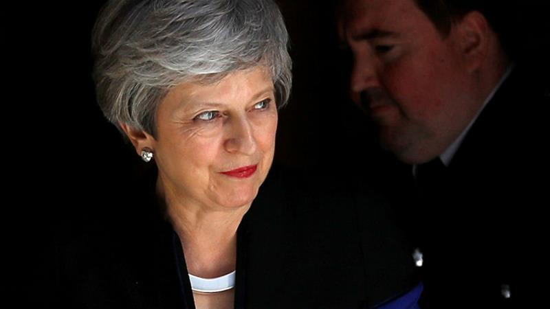 Theresa May under pressure to resign over new Brexit plan https://aje.io/8em22