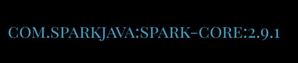 Spark (@sparkjava) | Twitter
