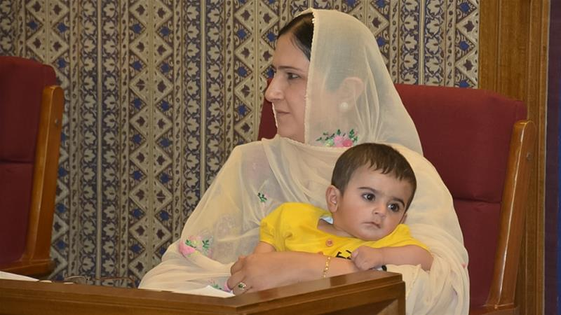 Pakistani legislator kicked out of assembly for bringing her son https://aje.io/sc74c