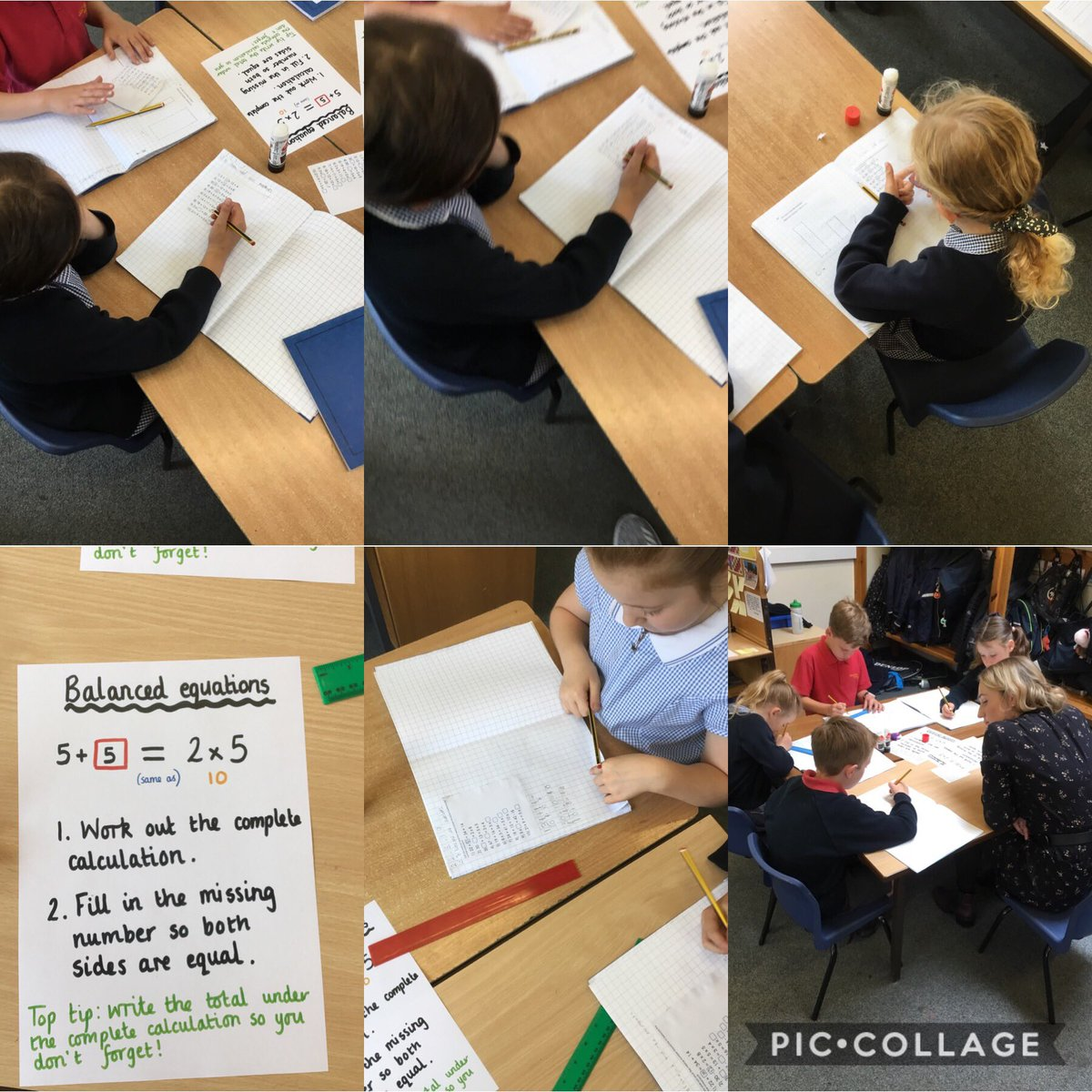 test Twitter Media - We've been learning about balanced equations in Maths. We've worked our socks off! #gorseymaths https://t.co/DYo3L7kCui