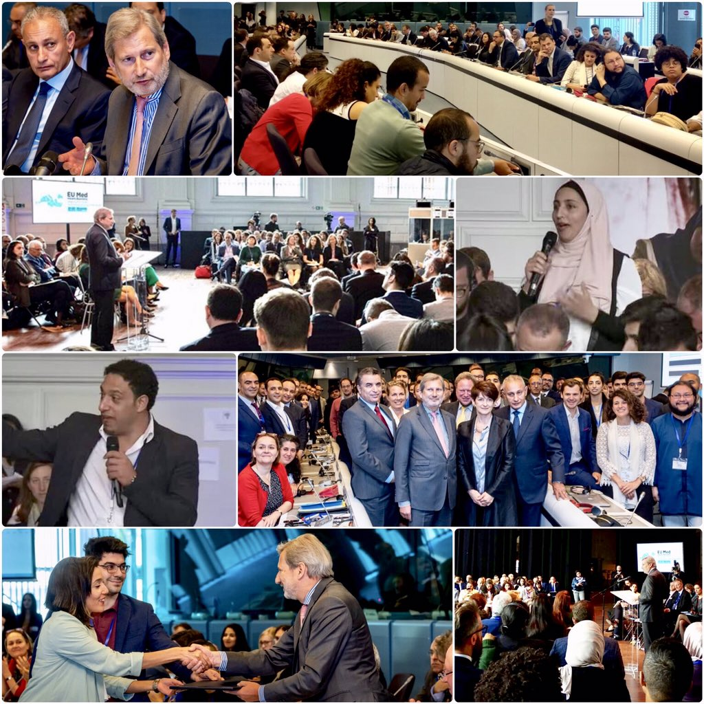 '#EU MED means #business' conference: #entrepreneurs from the Southern Neighbourhood set out priorities for action to boost #growth & #jobs👉 https://europa.eu/!CW67ft At #EUMED4business,some 150 young entrepreneurs,economic leaders & drivers of socio-economic change came together.