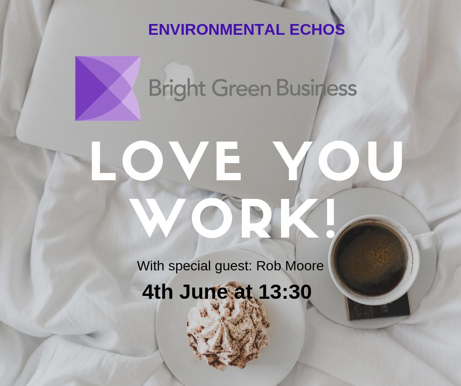 Image for We all strive for job satisfaction and to love our work. Tune in to our #enviroechos podcast with special guest Rob Moore from @RJM_Consulting for a Q&A series all about how to be more effective at work, enjoy it & love it! Tune in here: https://t