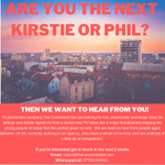- 18-28? -  Based in Northern England, Scotland, Wales or NI? -  Competitive and have a cracking sense of humour?Then we want to hear from you!@Theconnectedset are looking for 18-28 yr old estate/ letting agents for a brand new property TV show about renting. #EstateAgency
