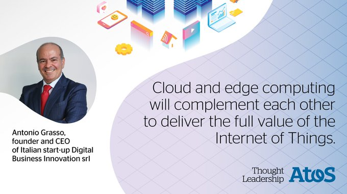 Digital Transformation influencer @antgrasso shares his insights on how #EdgeComputing will...