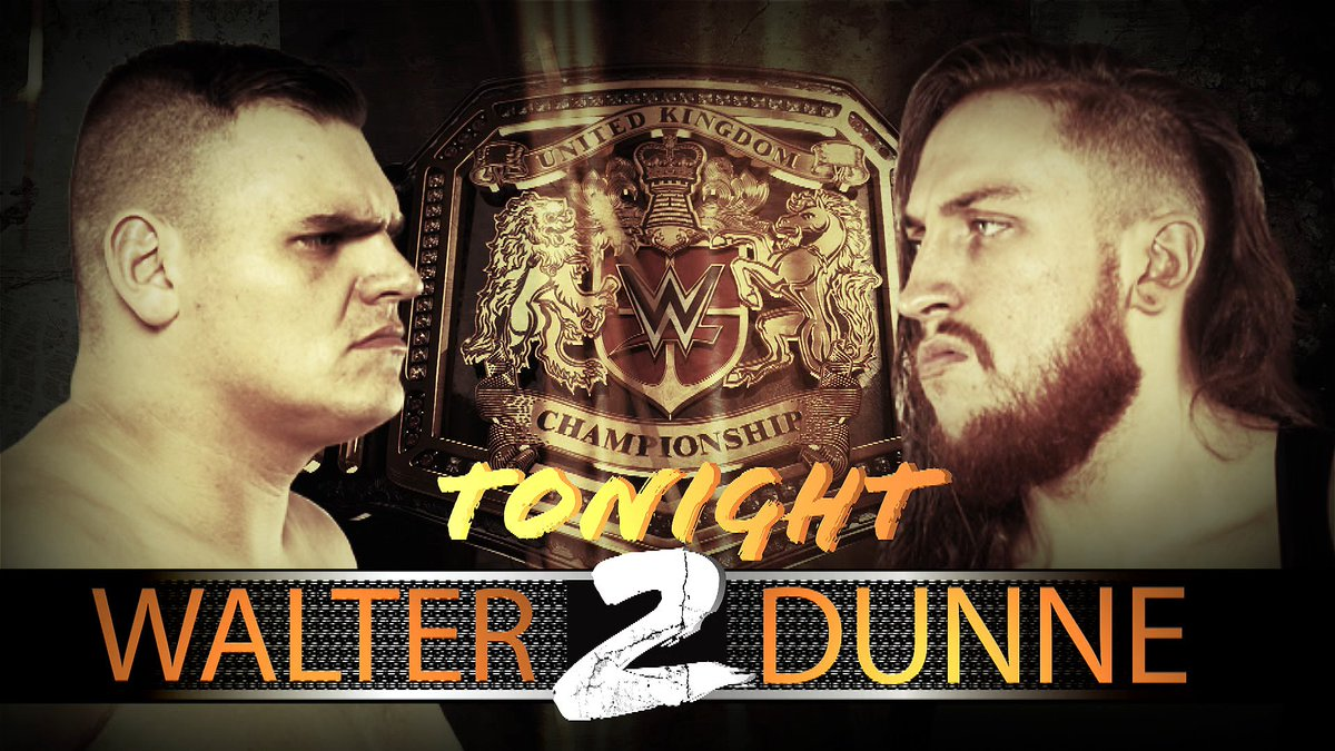 #DunneWalter2 happens tonight on @NXTUK !! 8pm/3pm Plus...@Travis_BanksPW vs @JosephConners - Fatal Four Way Qualifier@MandrewsJunior vs @NoamDar - rematch@RheaRipley_WWE addresses the NXT UK universe #NXTUK #NXT #WWE @WWE #WWENXT