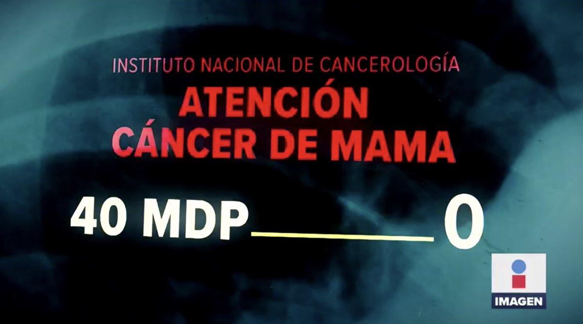 Los recursos del programa de detección y atención de cáncer de mama en el Instituto Nacional de Cancerología @incanMX pasaron de 40 millones de pesos a 0 pesos. Y como este hay muchos ejemplos. Algo muy grave está ocurriendo en los hospitales manejados por el @GobiernoMX