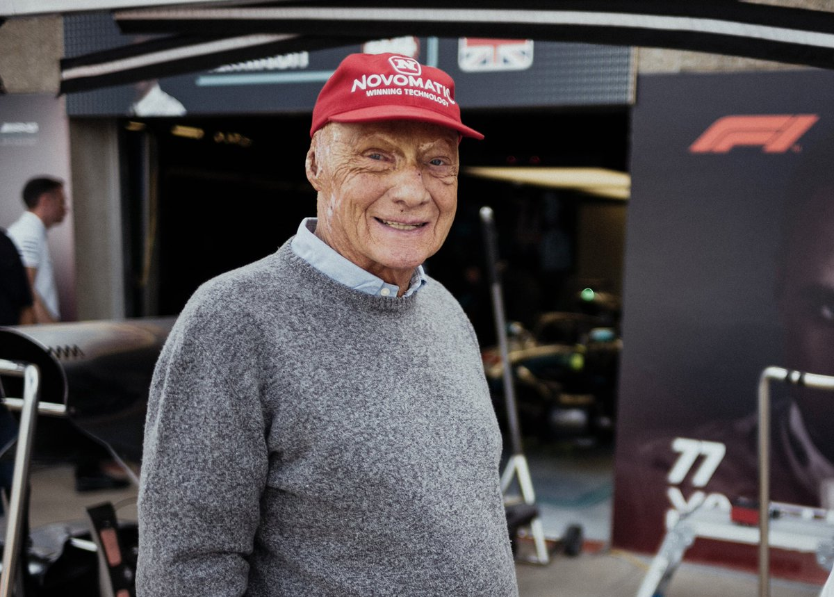 Thank you 🙏  The memories of Niki you have all shared mean a huge amount to everyone in this Team.  We didn't just lose a legend in Niki, but a friend and a team-mate.  This weekend, we intend to honour our Chairman in the best way possible. Giving it everything on track! 👊