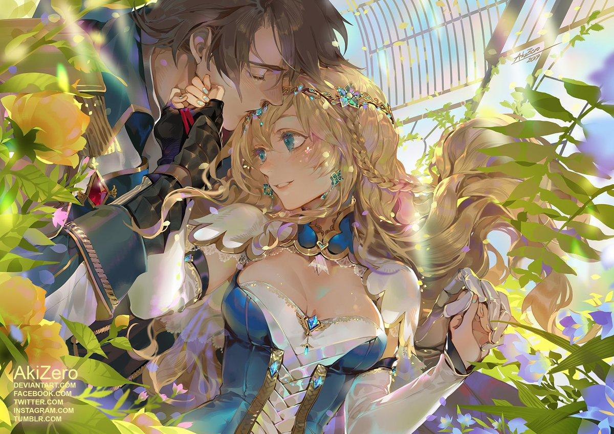 RT @zero15101991: 💙Crystal love 💙 Commission belongs to lainey-nesu .  Enjoy guys! =^._.^= ∫ #portrait #commission https://t.co/lFERlmVZCz