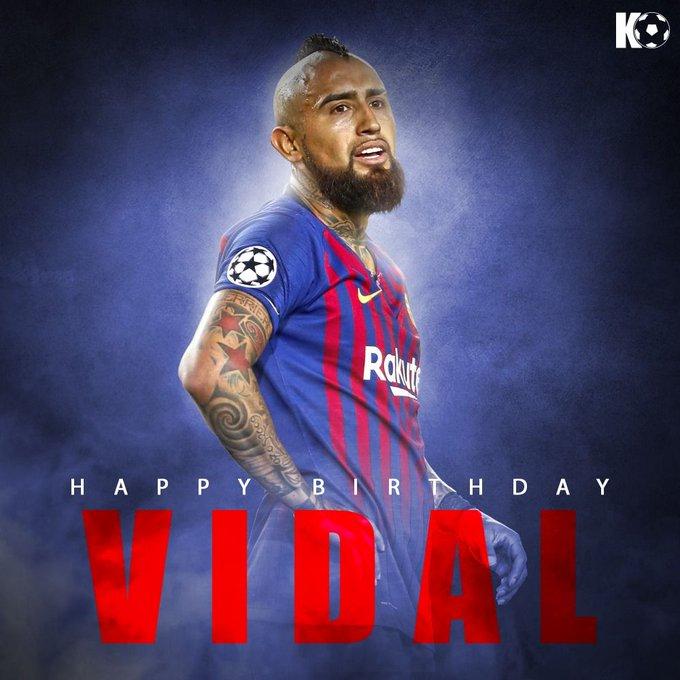 Join in wishing Arturo Vidal a Happy Birthday!