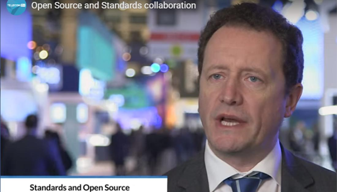 0d91dc6937dd Watch video on collaboration between open source and standards  TelecomTV  with Luis Jorge Romero from ETSI  TheStandardsPeople