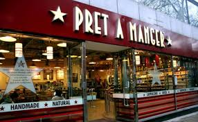 """BREAKING:Pret a Manger has announced it's reached an agreement to buy the cafe chain EATPret says it plans to convert as many of EAT's shops as possible to """"Veggie Prets""""Looks like the end of the EAT brand #WakeUptoMoney"""