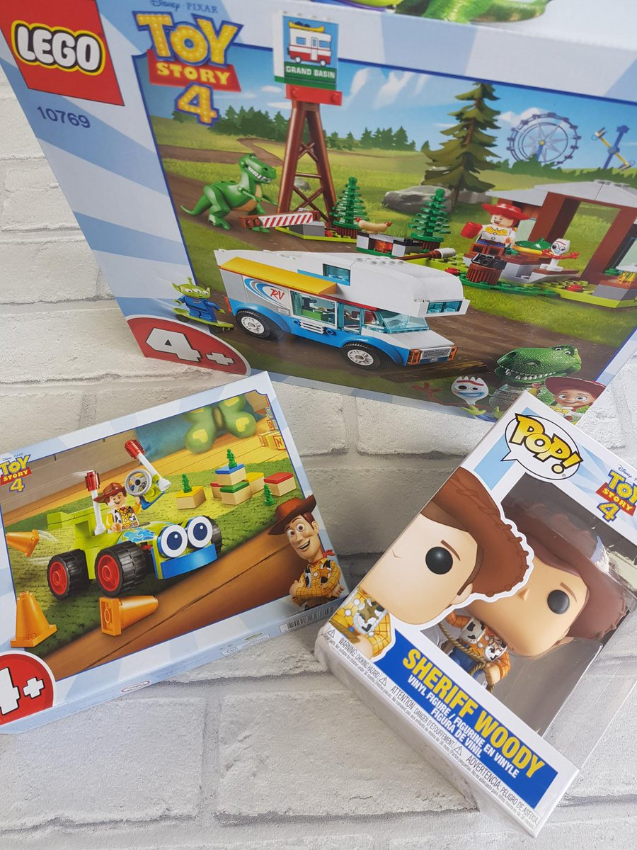 #freebiefriday #friyay We are counting down the days to the new @toystory movie so this week you can win @LEGO_Group and a @OriginalFunko figure from @EntertainerToys. To enter, tell us in the comments who your favorite character is + RT  Ends 20/6 at 10am. Winner to collect.<br>http://pic.twitter.com/WwaGICAtda