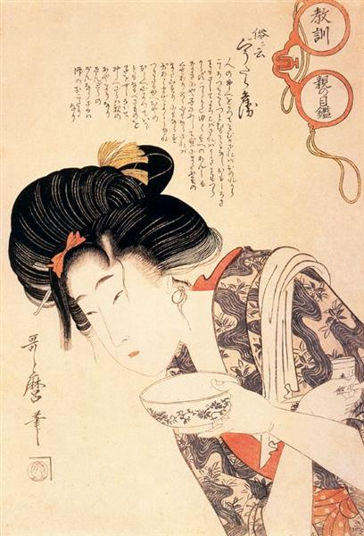 Utamaro Kitagawa - Middle Class Mother and Daughter    #japan #japaneseart #utamaro #喜多川歌麿 #ukiyoe #浮世絵 #日本美術 https://t.co/C3SjR3boxe