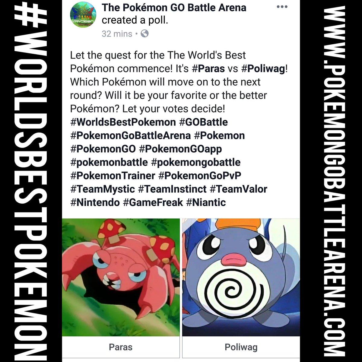 Pokémon GO Battle Arena (@PGBA_by_VRYDEON) | Twitter