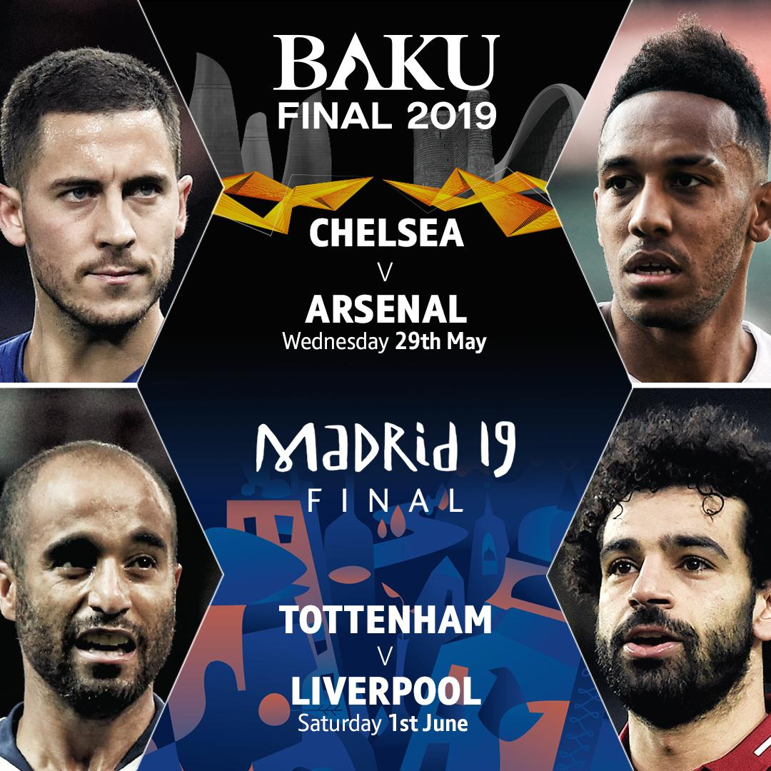 🚨 ICYMI 🚨  BT is making the 2019 @championsleague and @europaleague finals the best connected finals ever! —— • BT Sport App for mobile 📱 or TV 📺 • BT Sport's YouTube channel ➡️ http://youtube.com/BTSport  • Experience the UCL final in VR360 or HD HDR 😎  Unmissable action.