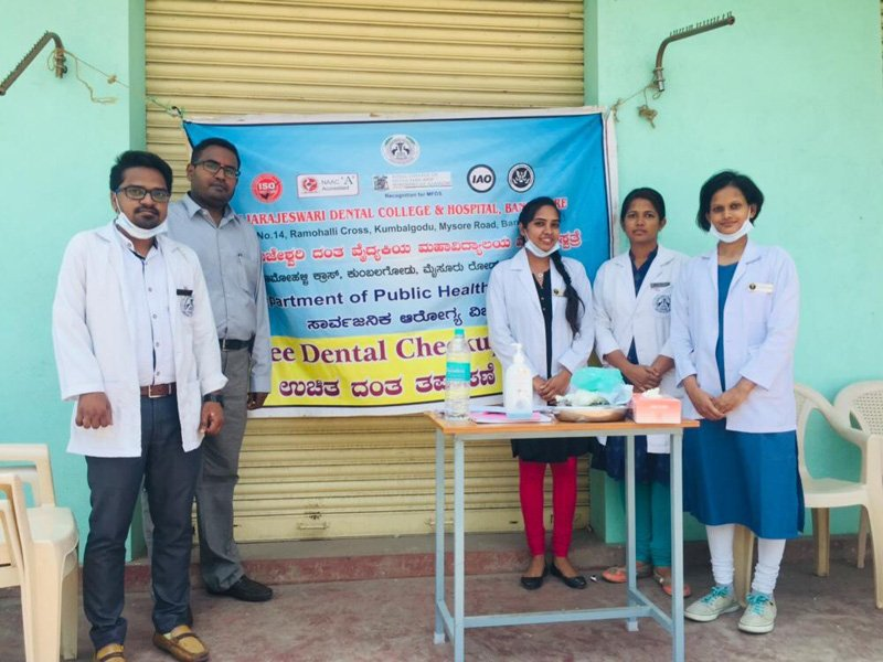 A screening camp was organized by Department of #PublicHealthDentistry at Kettohalli village on 22nd May 2019 from 10.A.M to 12.30 P.M. A total of 31 subjects were screened. Appropriate referrals were made to the #RRDCH and #Chunchunkuppe Primary Health Center.