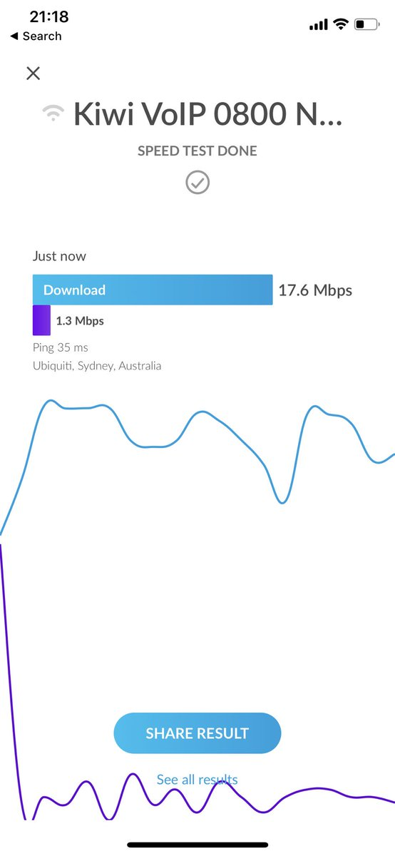 A little Speedtest thanks to the new UniFi #WiFiMan app  Great job