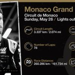 The #MonacoGP glamour is back 🇲🇨😎  All the key details as we go racing in Monte Carlo this weekend!