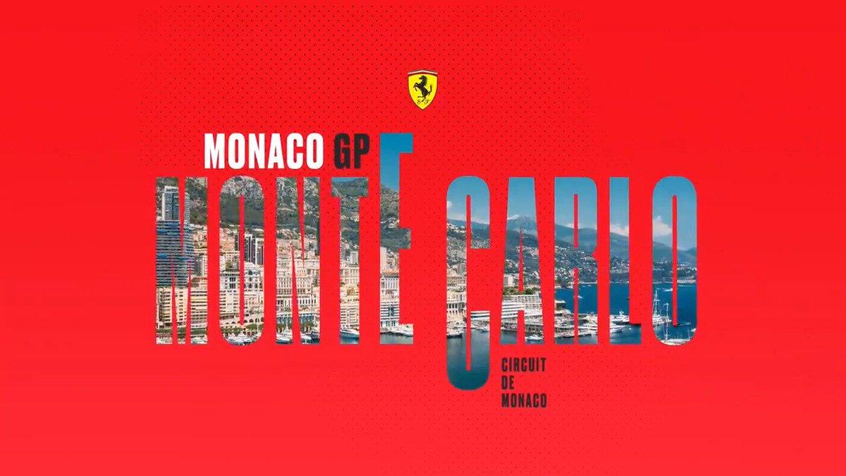 Racing, thinking of Niki: one of the most legendary GPs of the season is here. https://t.co/1VBmKIbb3y  #Seb5 #Charles16 #SF90 #essereFerrari 🔴 #MonacoGP 🇲🇨