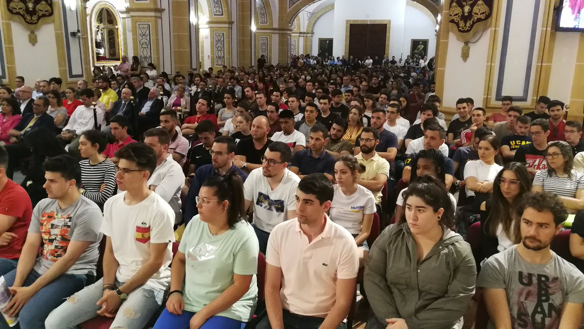 2193cd4d1 Presentación del Consejo de Estudiantes de la UCAM en el Templo.pic.twitter .com kaB4Krz3mU