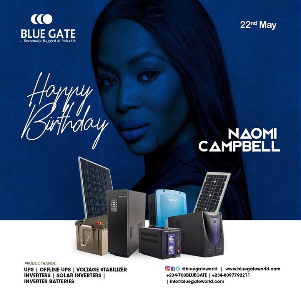 Happy Birthday, Naomi Campbell...