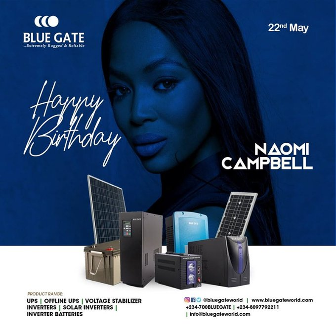 Happy Birthday, Naomi Campbell...