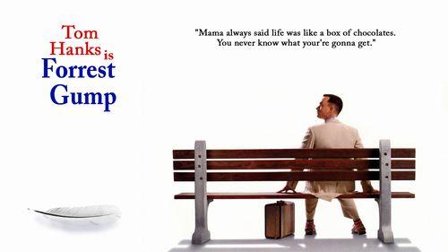"""【フォレスト・ガンプ?一期一会""""Forrest Gump】今回は、1994年公開とかなり前の映画「フォレスト・ガンプ/一期一会""""Forrest Gump""""」でワンポイントレッスン✨当時のアメリカの歴史も交えながらForrestの半生を描いたヒューマンドラマ?️#英会話#英単語#お役立ち#英語学習"""