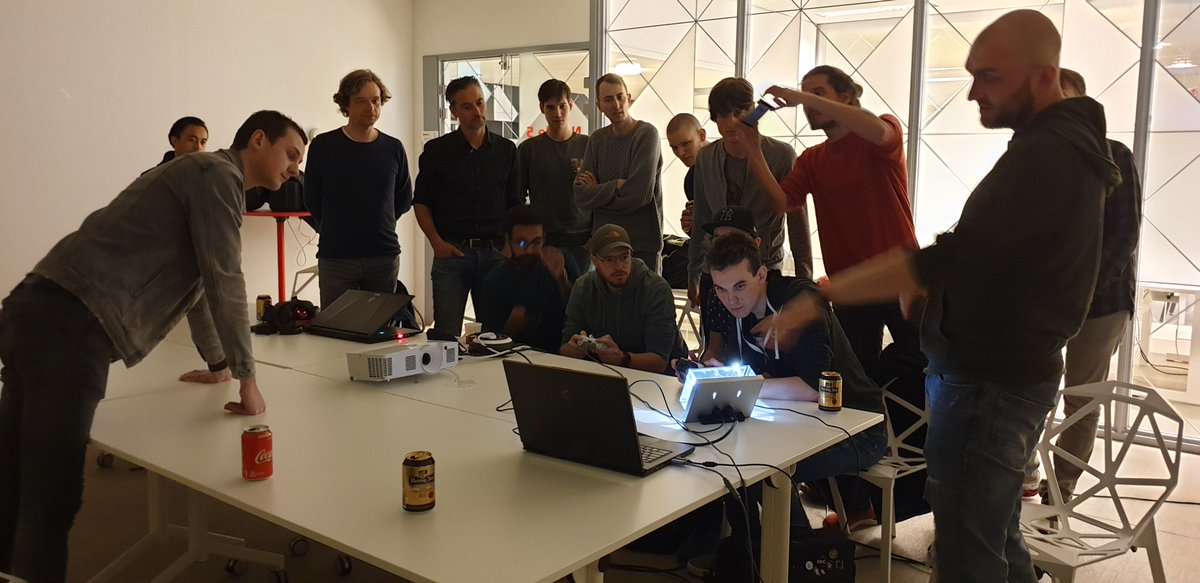 Had a great @unrealengine meetup yesterday! Thanks for all who where there! #ue4 #getinspired