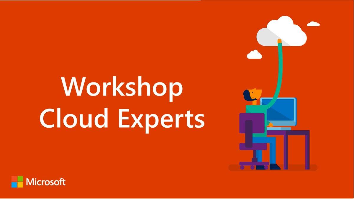 Workshop Cloud Experts : Des sujets variés pour aller plus loin dans vos connaissances du #Cloud et ses applications. Que vous soyez professionnels informatiques, développeurs, analystes, programmeurs, Data Scientists... Rejoignez-nous ! #MardiConseil  https:// experiences.microsoft.fr/calendrier-for mation/cloud-experts/ &nbsp; … <br>http://pic.twitter.com/BcLbQzeyNy