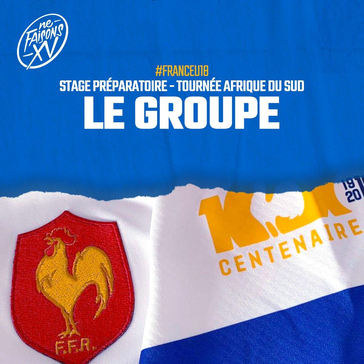 Fédération Française de Rugby @FFRugby