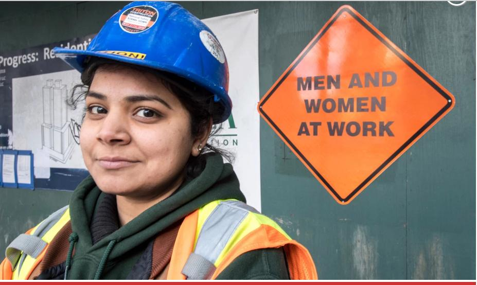 """A Manhattan construction company has rolled out gender-neutral """"Men and Women at Work"""" signs — believed to be the first of their kind in the city. https://nyp.st/2QcLg0k #Inclusion via @nypmetro"""