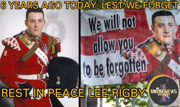 We will always remember #LeeRigby